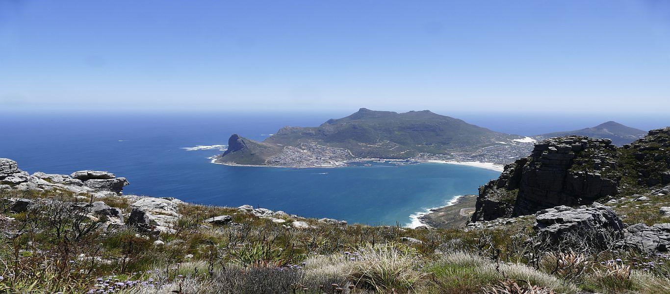 Wandern in Afrika, Südafrika, Kapregion, Table Mountain National Park