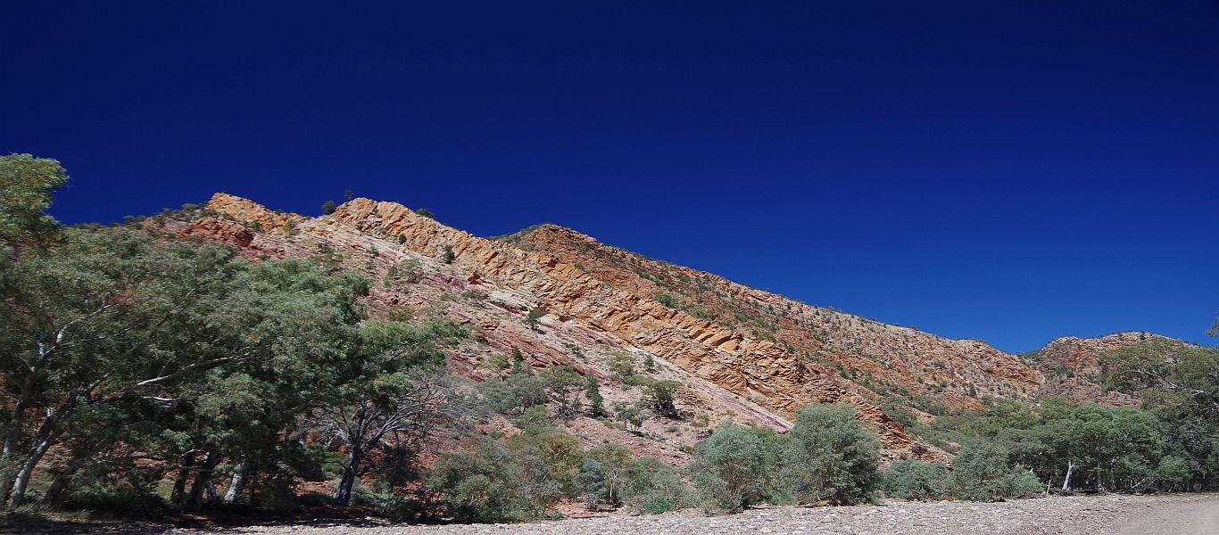 Wandern in Südaustralien, Flinders Range, Bunyeroo und Brachina-Schlucht