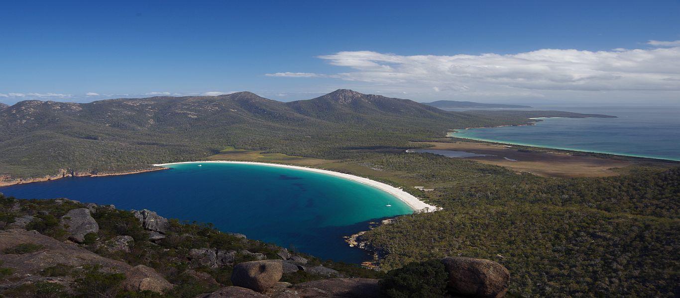 Wandern auf Tasmanien, Freycinet Nationalpark