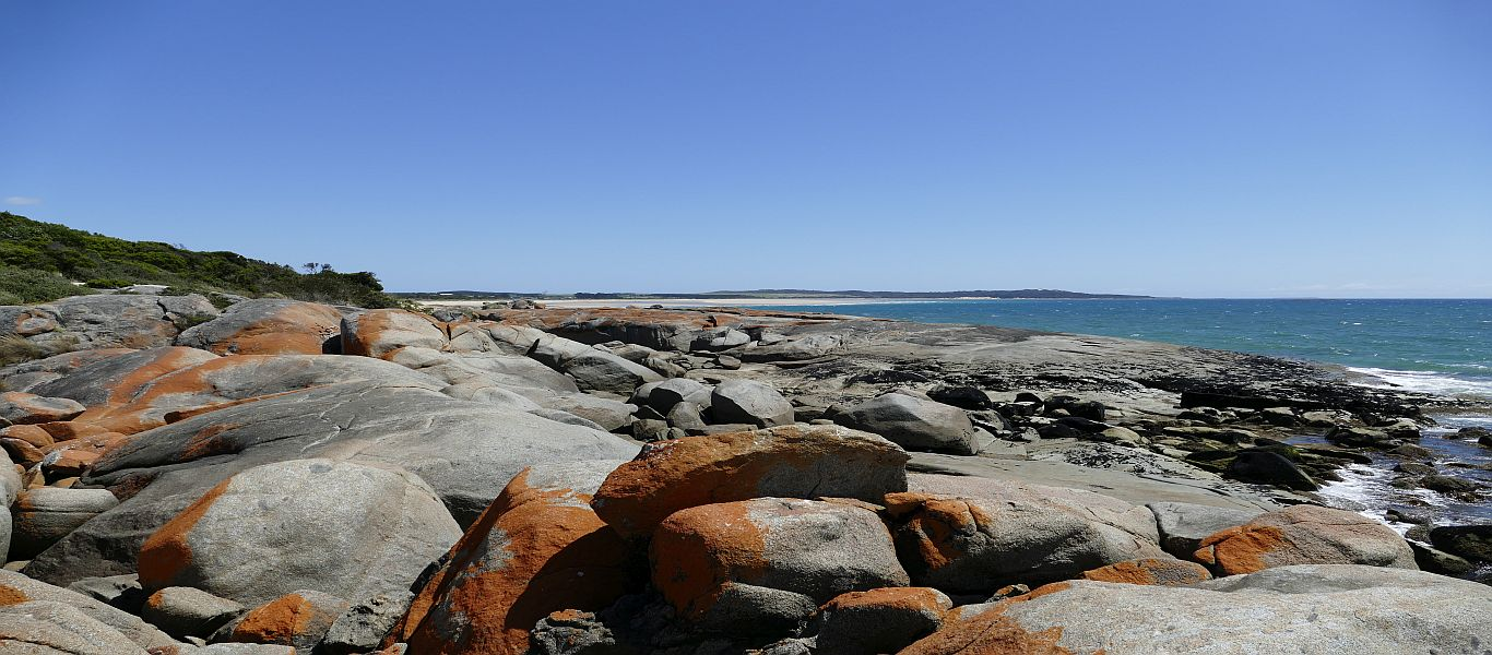 Wandern auf Tasmanien, rund um Bridport