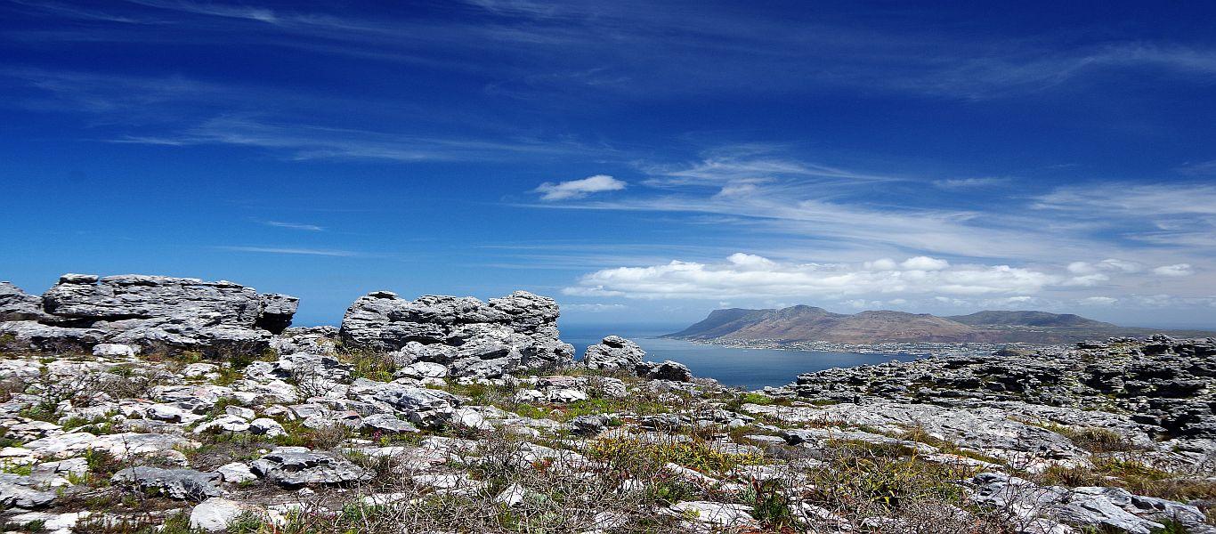 Wandern in Afrika, Kapregion, Table Mountain Nationalpark, Muizenberg Peak