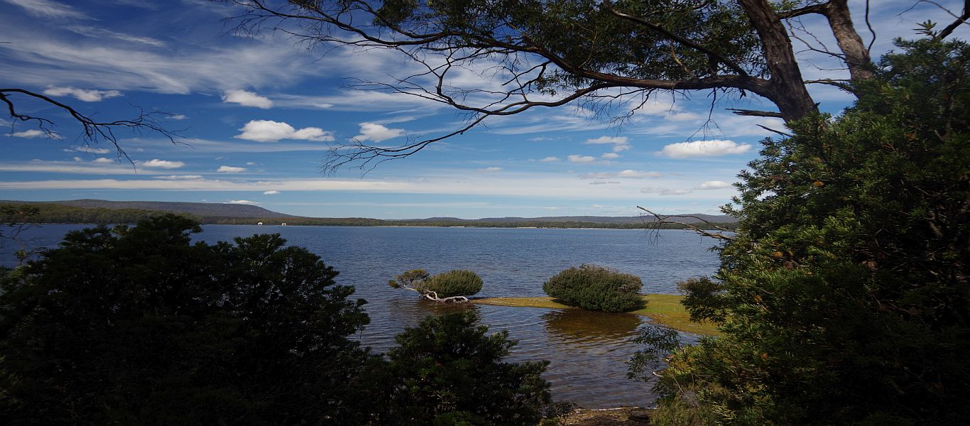 Wandern auf Tasmanien, Lake St Clair Nationalpark